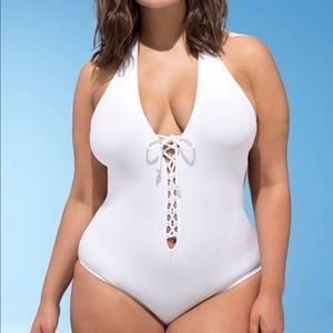4f81f3fb21323 Ashley Graham · New with tags Ashley graham plus size swim. NWT